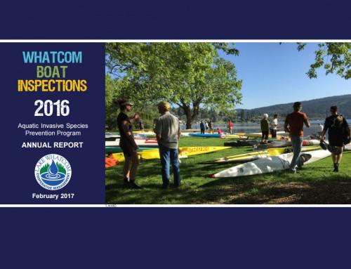 Report highlights 2016 Boat Inspection Program results